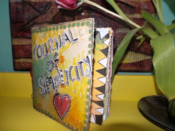 Hand made art journal