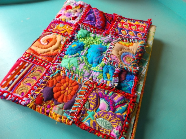 Patchwork art journal