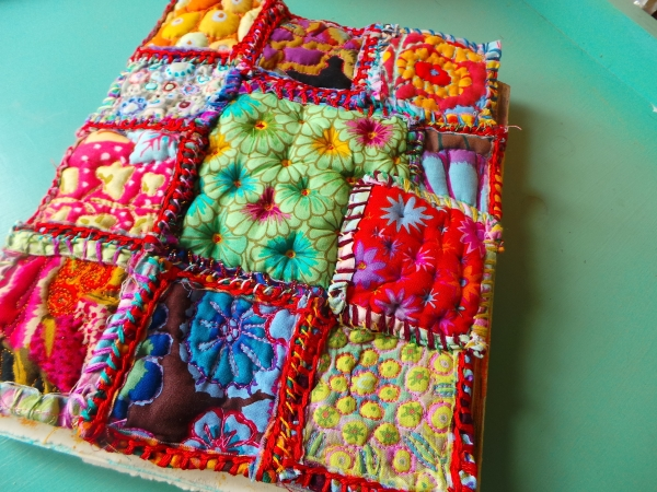 Rough puff patchwork